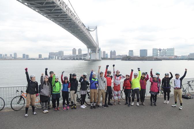 ポタサイクリング TOKYO 50km × RATIO &C @ RATIO&C(レシオ・&シー) | 渋谷区 | 東京都 | 日本