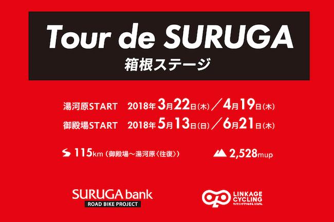 スルガ銀行プレゼンツ Tour de SURUGA 湯河原発着 箱根ステージ115km  @ スルガ銀行サイクルステーション(湯河原支店併設) | 湯河原町 | 神奈川県 | 日本