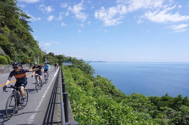 美しい伊豆創造センター×スルガ銀行 伊豆半島横断ライド70km