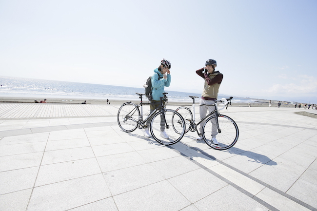 ポタサイクリング60km湘南 海の幸 @ リンケージサイクリング