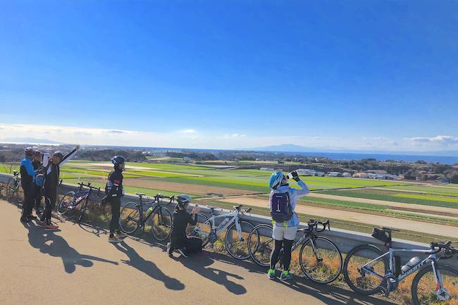 スポーツサイクリング80km 湘南 三浦半島