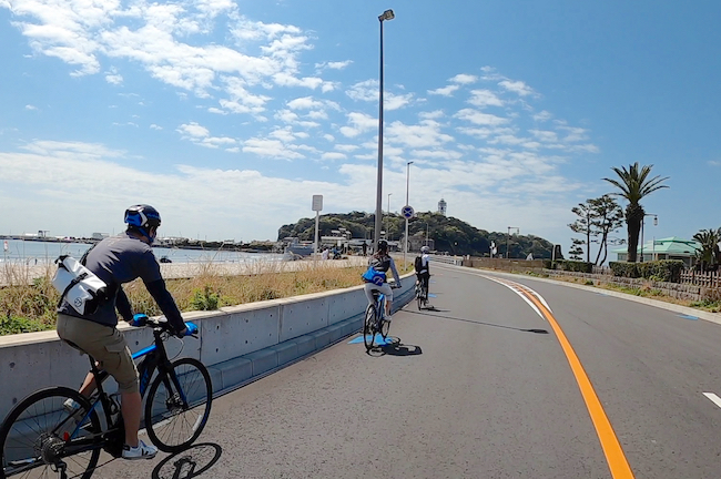 [限定開催] 湘南・江の島 E-BIKE(電動アシストクロスバイク) サイクリングツアー20km