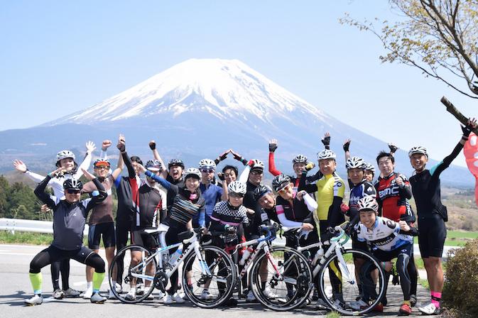フィットネスサイクリング110km 富士山1周 @ スルガ銀行御殿場東支店併設 サイクルステーション