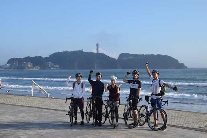 体験サイクリング20km(AM) @ リンケージサイクリング